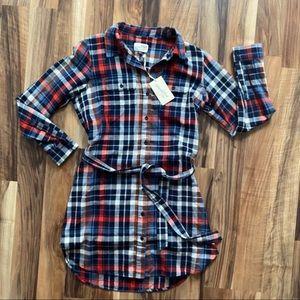 Universal Thread Flannel Dress NWT